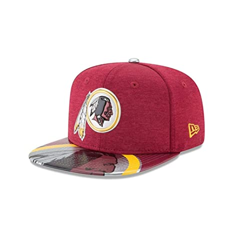 36d07b1d14bf29 Amazon.com : New Era NFL Washington Redskins 2017 Draft On Stage 9Fifty  Snapback Cap, One Size, Red : Sports & Outdoors