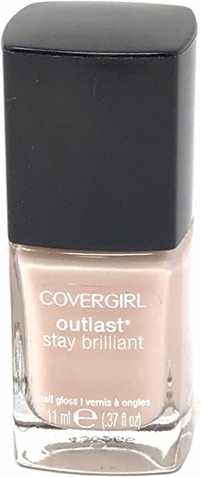 The CoverGirl Outlast Stay Brilliant Nail Gloss travel product recommended by Amy Jo Miller on Pretty Progressive.