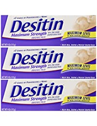 Desitin Maximum Strength Original Diaper Rash Paste 4 oz tube (Pack of 3) BOBEBE Online Baby Store From New York to Miami and Los Angeles