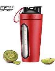 PLC020 Sport Fitness Shaker acier inoxydable Protéines Bottle de protéines 700 ml | Bottle de protéines eeiweiß Bottle Conservation de la chaleu