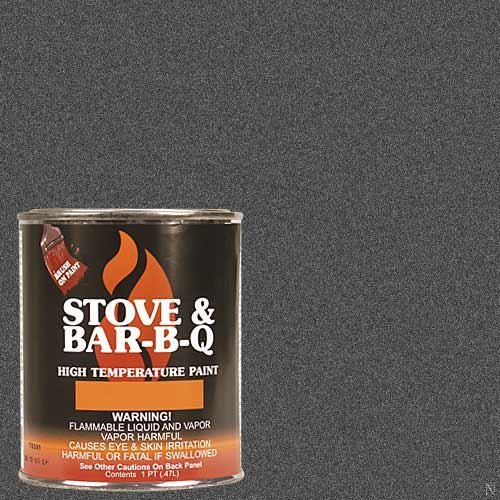 (Stove Bright High Temperature Paint- Charcoal 16 oz)