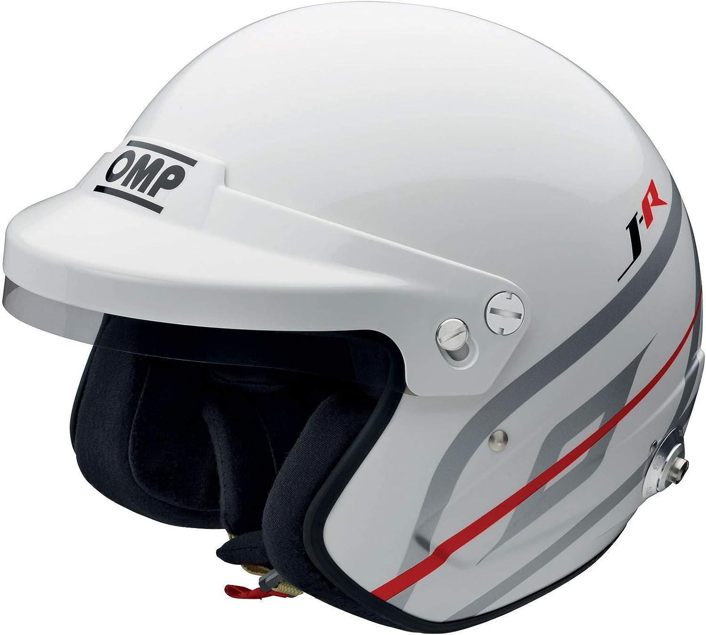 FIA 8859 2015 zugelassen OMP SC795 Racing J-R Hans Jethelm mit offenem Gesicht