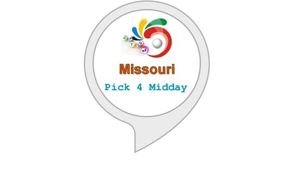 Amazon Com Winning Numbers For Missouri Pick 4 Midday Alexa Skills
