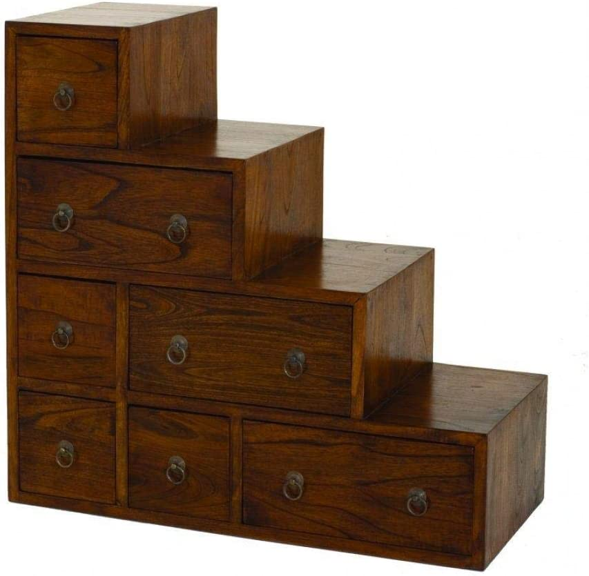 Inside Mueble Escalera 7 cajones Lauren en Estilo Colonial de Mindi: Amazon.es: Hogar