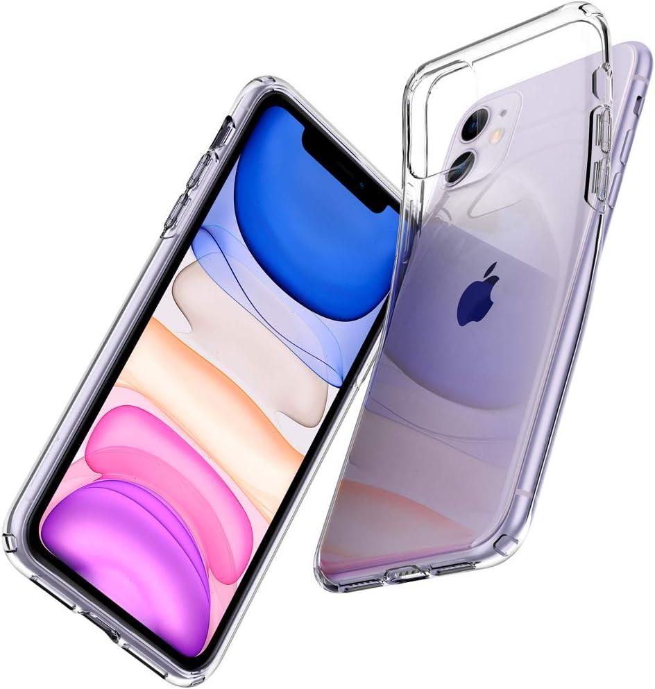 Spigen Liquid Crystal Hülle Kompatibel Mit Iphone 11 Crystal Clear Elektronik