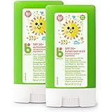 Babyganics Sunscreen Stick SPF 50.47oz Stick (Pack of 2)