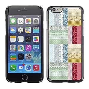 "Print Motif Coque de protection Case Cover // V00002035 sin patrón floral mosaico // Apple iPhone 6 6S 6G PLUS 5.5"""