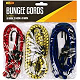 NEW BUNGEE STRAPS CORDS SET WITH HOOKS ELASTICATED ROPE CORD VARIOUS SIZE