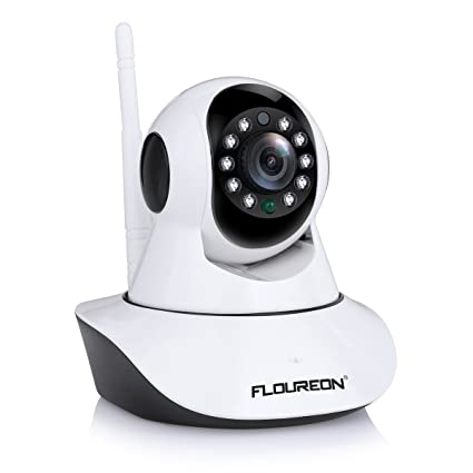 Floureon – Cámara WiFi, cámara de vigilancia, cámara de red, 720 p,