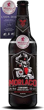 Cerveza artesana Morlaco Izar Gorri (Pack 12 botellines): Amazon ...