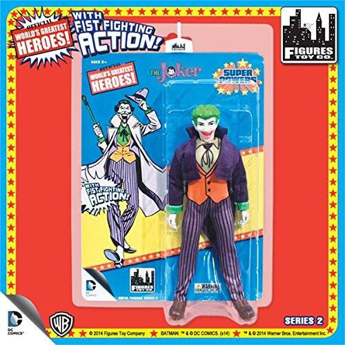Super Powers Retro 8 Inch Series 2 Action Figures Joker