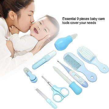 Cepillo Reci/én Nacido YZPUSI Beb/é Kit de Cuidado Diario Beb/é Set Para El Cuidado Del Beb/é Peine Beb/é