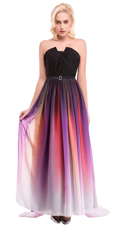 Women's Oblique Shoulder one Shoulder wedding dress - sequined evening dress