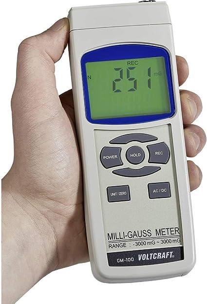 VOLTCRAFT GM-100 herramienta para la tamaño del campo magnético ...