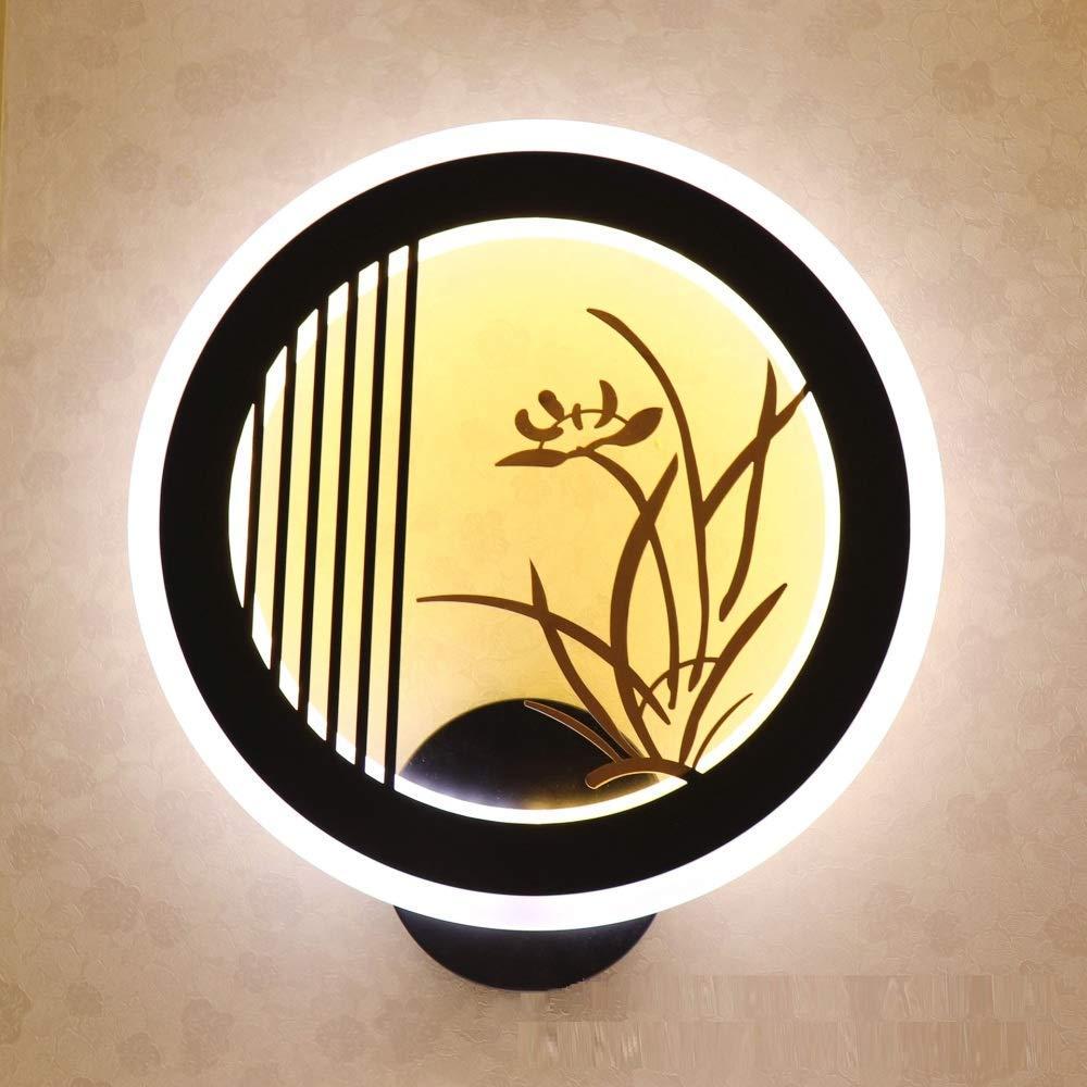 Colour-Größe Irinay Wandlampe Moderne Innenwandlampe Lampe Licht Minimalistischen Wohnzimmerwanddekorationslampe Der Wandlampe Moderne 3W Purpurrotes Licht Wandlampe Vintage (Farbe   Colour-Größe)