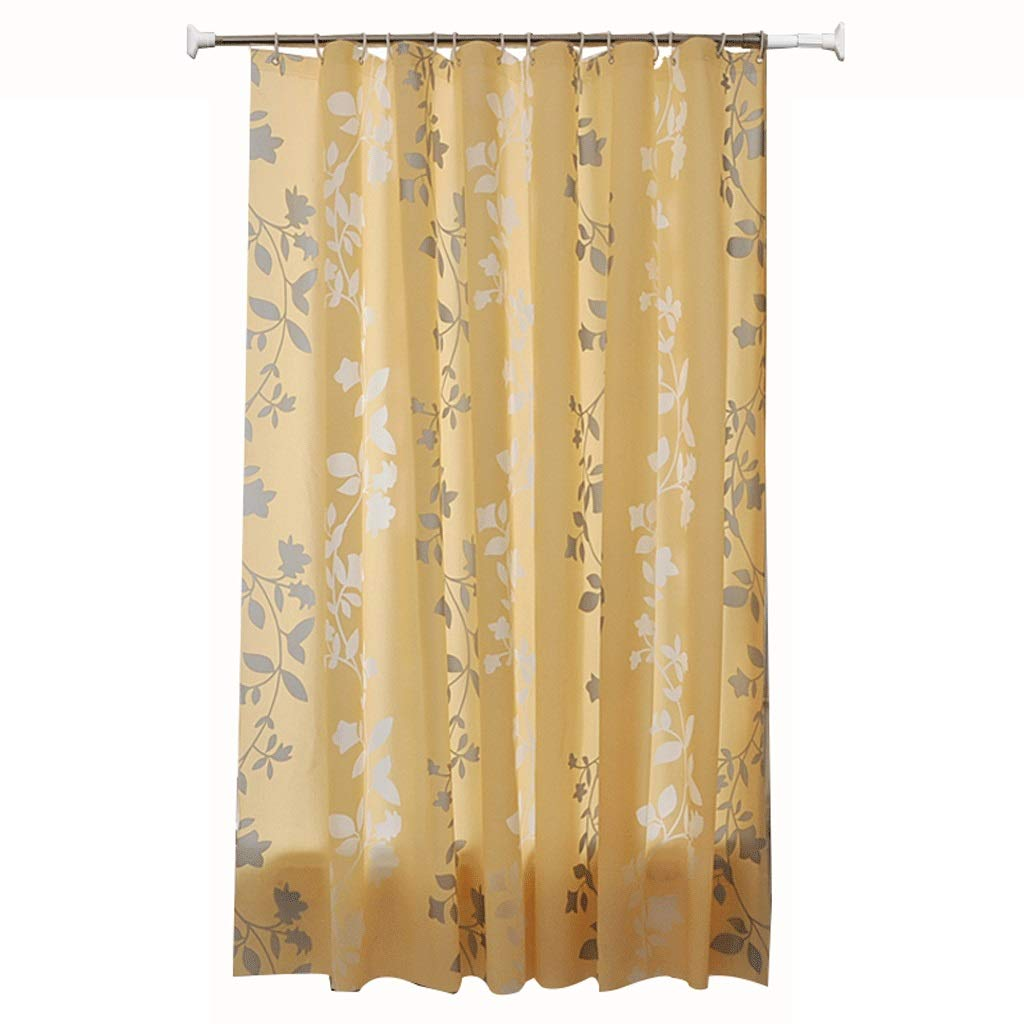 Curtain Waterproof and Thickened Partition Curtain Bathroom Toilet Shower Curtain Shower Equipment (Size : L)