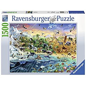 Ravensburger 16364 Our Wild World Puzzle 1500 Pezzi