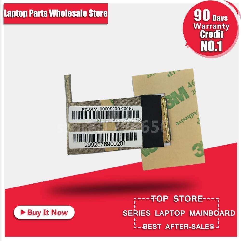 Cable Length X43B K43B Connectors for ASUS X43B K43B K43TK K43TA X43U K43T K53T X53B X53U K53U K53T K53TK K53TA Laptop LVDS LED Video Flex Cable