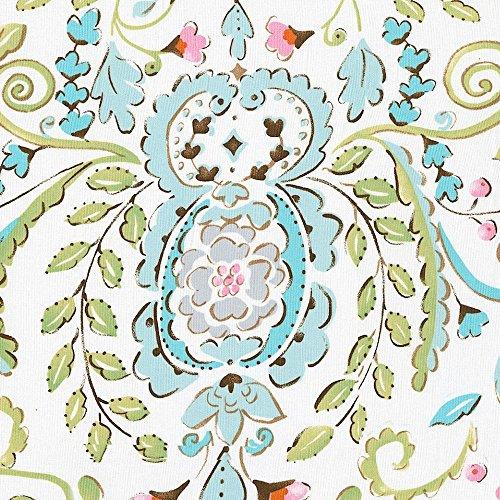Carousel Designs Love Bird Damask Cradle Sheet