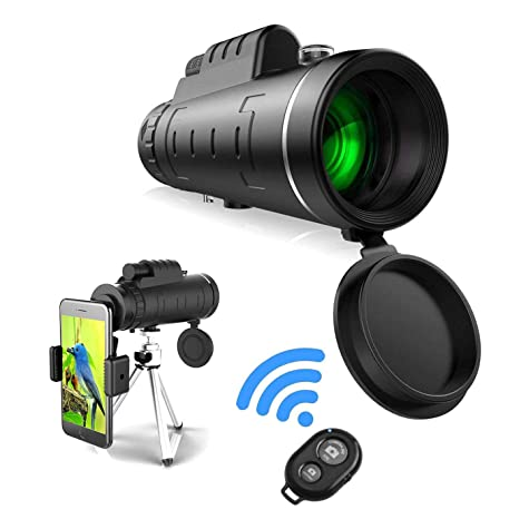 Binocular Cases & Accessories Binoculars & Telescopes 40x60 Prism Spotting Scope Waterproof Telescope W/ Tripod Phone Adapter Bag Sale Price