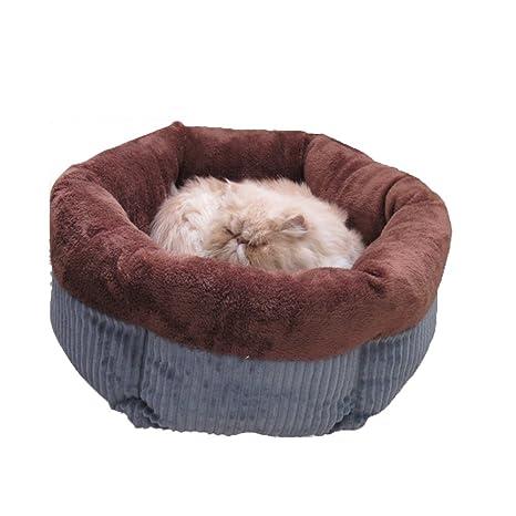 PETS 33 Hexágono Basura para mascotas Basura para gatos Invierno Cálido Teddy Kennel Saco de dormir