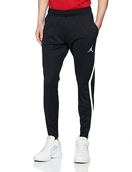 2244d9562b7cbb Amazon.com  Jordan Men s Dry 23 Alpha Training Pants - Black White ...