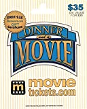 MovieTickets.com $35 Gift Card