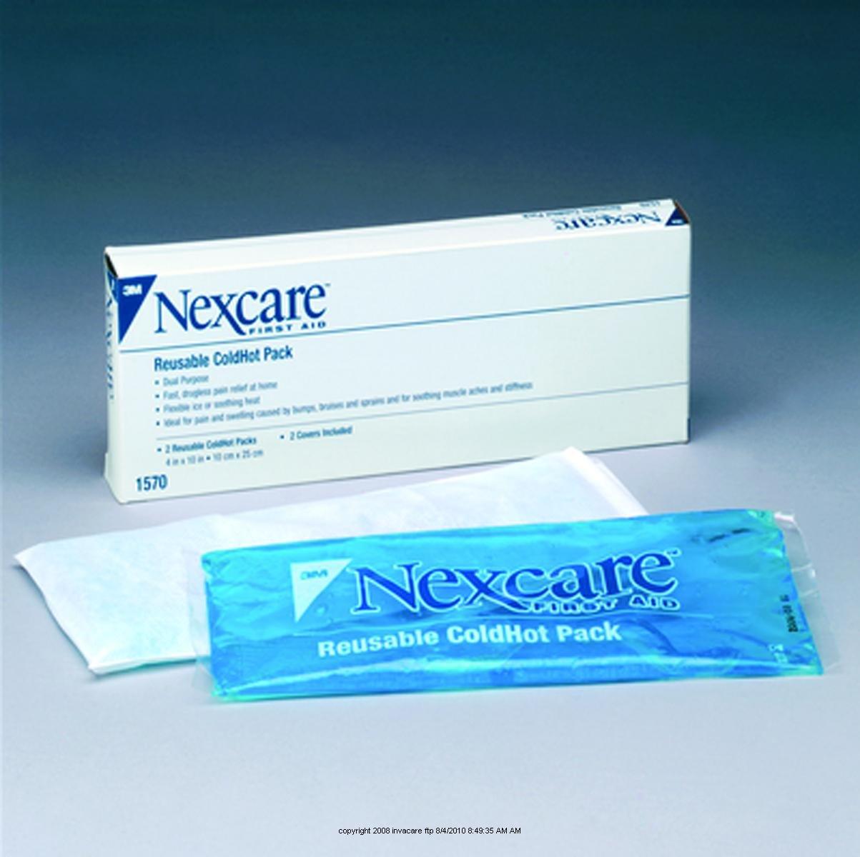 Box Of 2 Nexcare Reusable ColdHot Pack by 3M: Amazon.es: Salud y cuidado personal