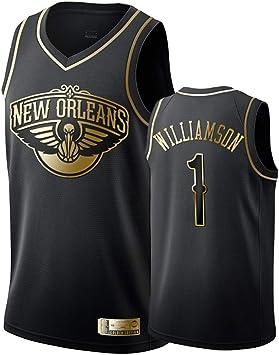 Hombre Mujer Ropa de Baloncesto New Orleans Pelicans 1# Williamson ...