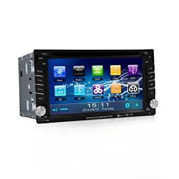 6,2 pulgadas reproductor de DVD para Nissan coche e6202g Navegación GPS 2 DIN reproductor