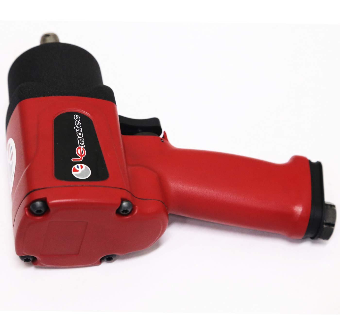 LE-IWT-S2 Super Duty Air Impact Wrench Air Impact Driver Ubiquitous 1//2 Impact Wrench Air Impact Driver
