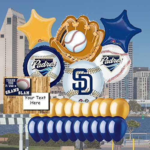 (Anagram San Diego Padres 25 Piece Balloon Set)