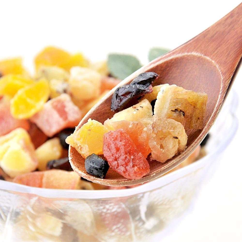 Dry rich 10 kinds of dried fruit mix 1kg (2X500g) dried fruit by Fresh Market (Image #1)