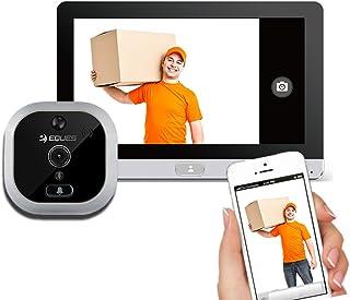 Eques R22Wi-Fi PIR Motion Sensor Doorbell camera spioncino digitale per Android e iOS smartphone