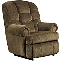 Flash Furniture Big & Tall 350 lb. Capacity Gazette Basil Microfiber Recliner