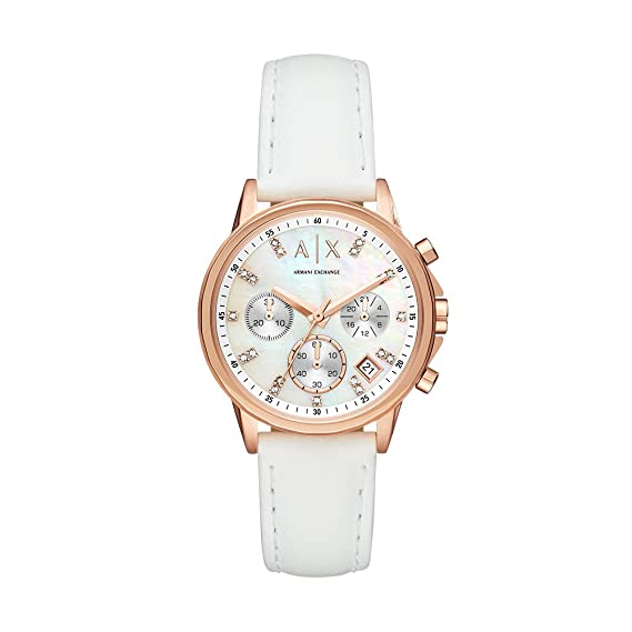Armani Exchange Reloj Cronógrafo para Mujer de Cuarzo con ...