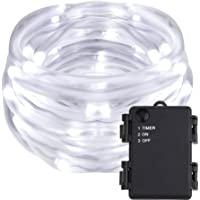 Lighting EVER 16.5ft, 50 LED Rope String Lights