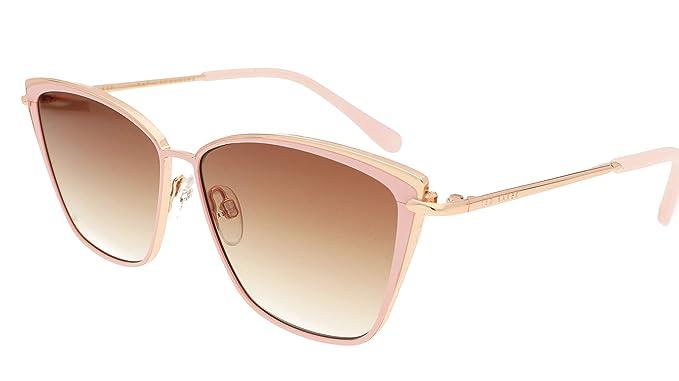 Ted Baker Danica Gafas de Sol, Rosa (Pink/Brown), 57.0 para ...