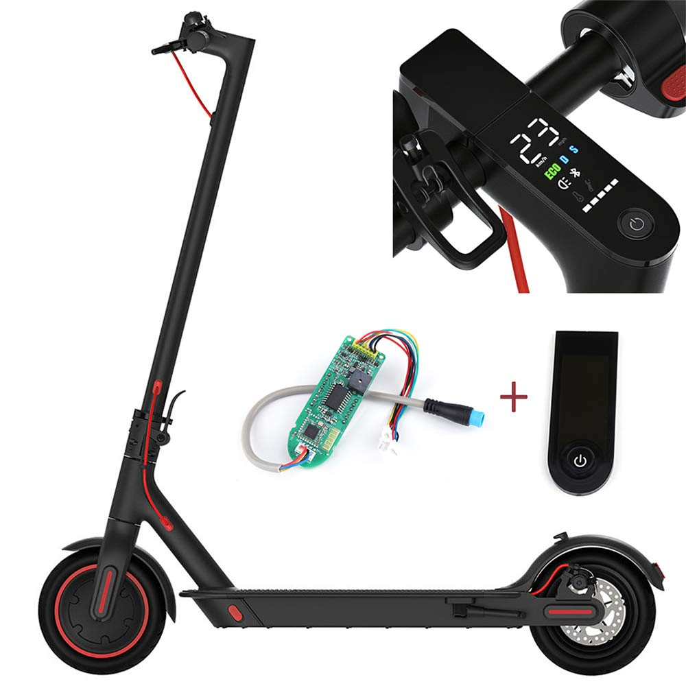 Walmeck- Dashboard Circuit Board with Screen Cover for Xiaomi M365 M365 Pro Smart Foldable Electric Scooter