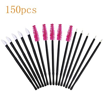 Amazon Com Mascara Wands Disposable Makeup Brushes Tool Kit Eyelash