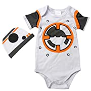 Knitwits  BaBy-8  Onesie and Hat Bundle Outfit (6-12 Months)