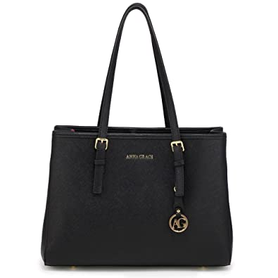 99bab0748e LeahWard Women s Large Shoulder Bags Handbags Quality Faux Leather Tote Bag  For School Holiday 571 (