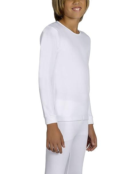 Ysabel Mora Kids Thermal T-Shirt White in size 4 Years
