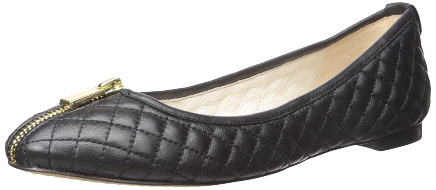 Vince Camuto Women's Bands Ankle-High Leather Loafer