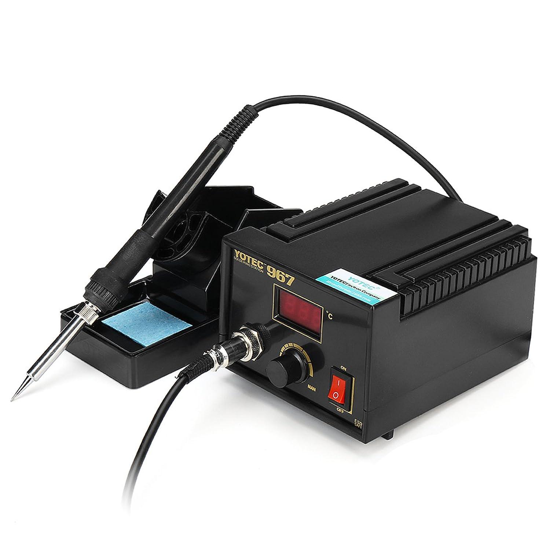 Beho-110-265V 967電力用はんだ付け ステーションSMDリワーク溶接用 アイロンホルダーセット B07B67BFVX