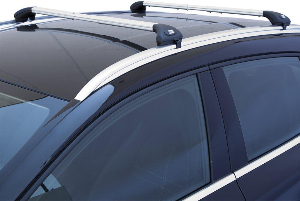 CORRIMANO INTEGRATI MENABO Barre PORTATUTTO Portapacchi Opel GRANDLAND X dal 2017 in Poi con Railing
