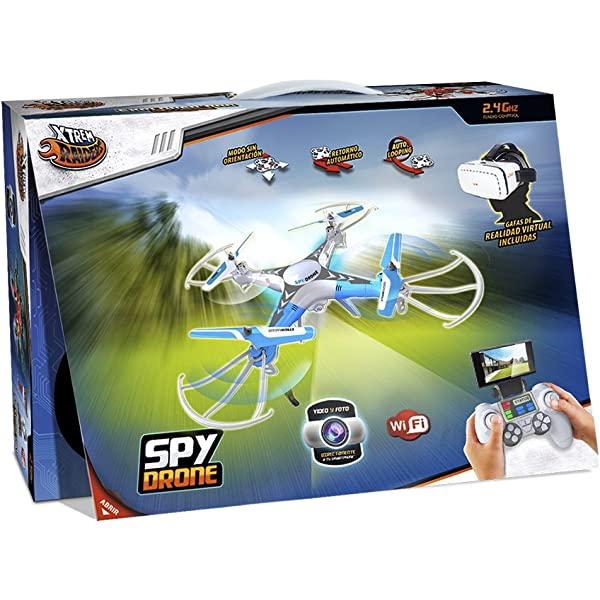 World Brands Xtrem Raiders-Sky View Drone: Amazon.es: Juguetes y ...