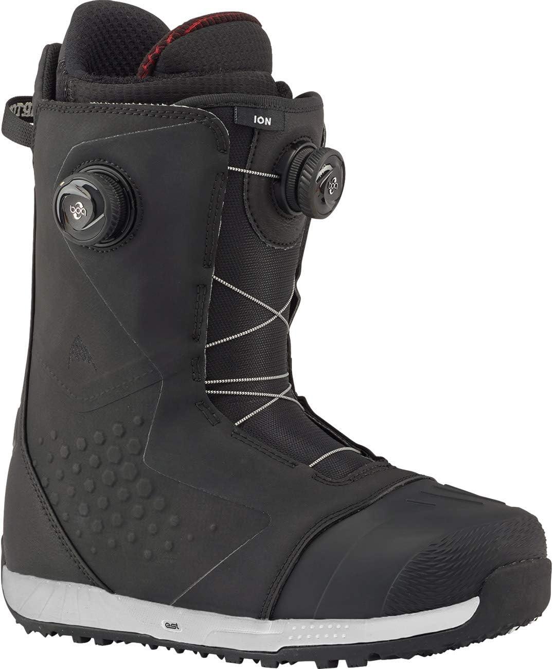 バートン(バートン) スノーボードブーツ ION BOA 185791 02027 ブラック×レッド