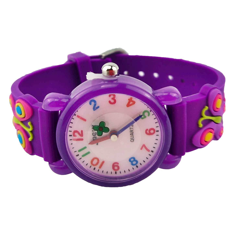 Kids Watches, 3D Cute Cartoon Waterproof Watch for Girl Children Toddler Wrist Watches by Akaru (Image #4)