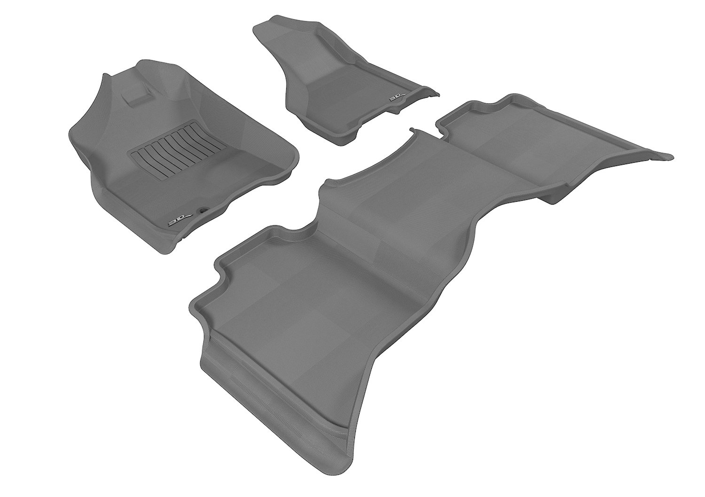 Rubber Matten Dodge Ram.3d Maxpider Complete Set Custom Fit All Weather Floor Mat For Select Dodge Ram 1500 Models Kagu Rubber Gray